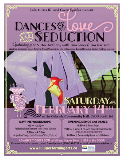 2 Dances of Love and Seduction