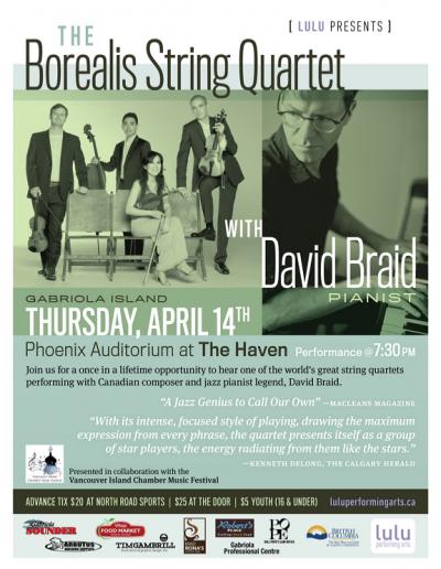 3 Borealis String Quartet