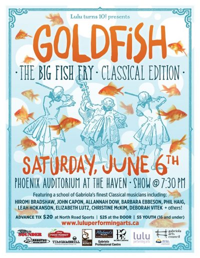 8 Goldfish Big Fish Classical
