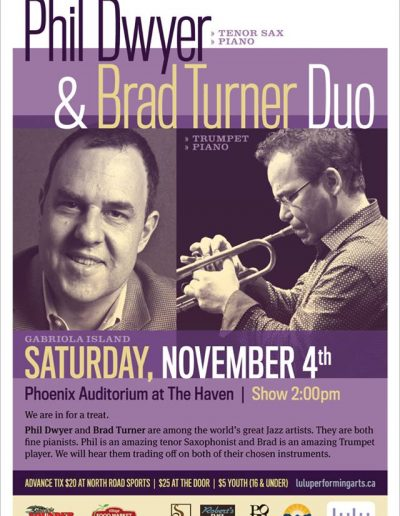 Phil Dwyer adn Brad Turner