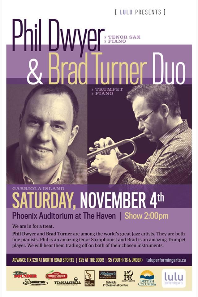 Phil Dwyer and Brad Turner