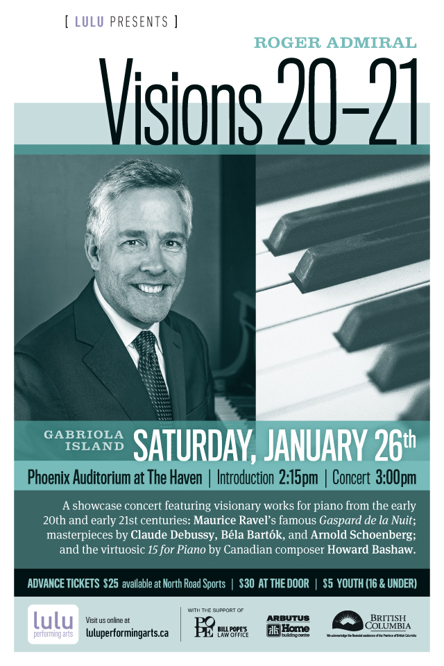 Roger Admiral: Visions 20-21