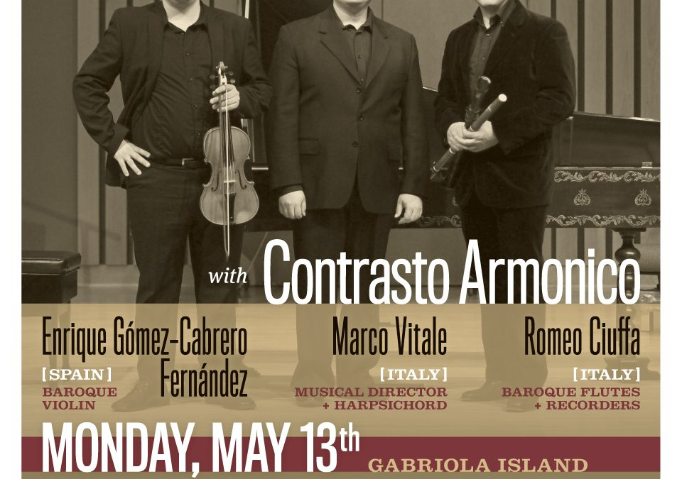 Baroque Europe: A Musical Journey with Contrasto Armonico